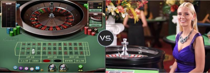 Perbedaan Live Dealer Dengan Casino Standar